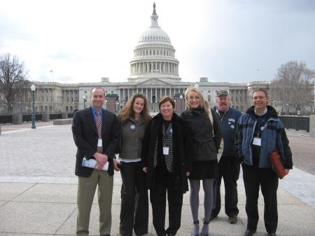 Sierra Club volunteers at Green Jobs Conference