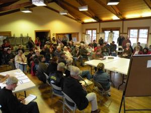 The conservation community shows its support in Cannon Beach