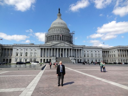 Larry Pennington at the U.S. Capitol
