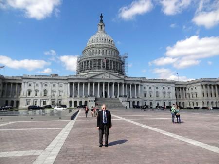Larry Pennington at the U.S. Capitol
