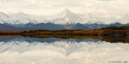 Alaska Range Denali Wilderness, Alaska, USA