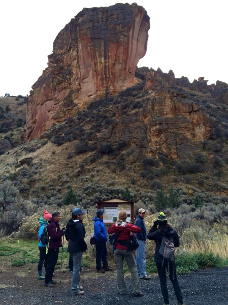 Owyhee Coalition at Leslie Gulch; Photo Credit: Borden Beck