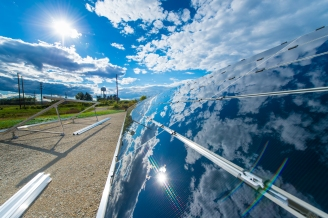 solar farm. 1st pictures. September 2012 30192D