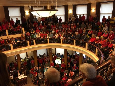 Activists pack City Hall in Portland