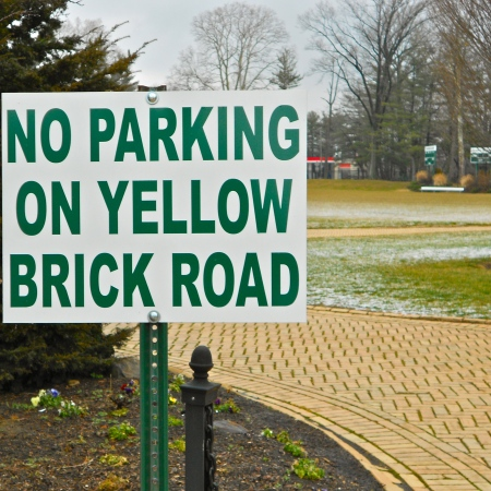 No Parking on the Yellow Brick Road-Wizard of Oz-Wikimedia
